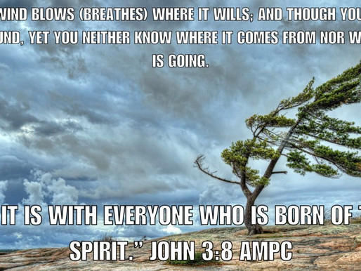 The Winds of Change-Not by Might, Nor By Power, But By His Spirit