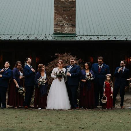 Ian + Ashley's Rainy Day Enchanted Wedding