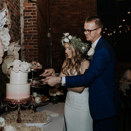 Sarah + Michael's Loray Mill Wedding