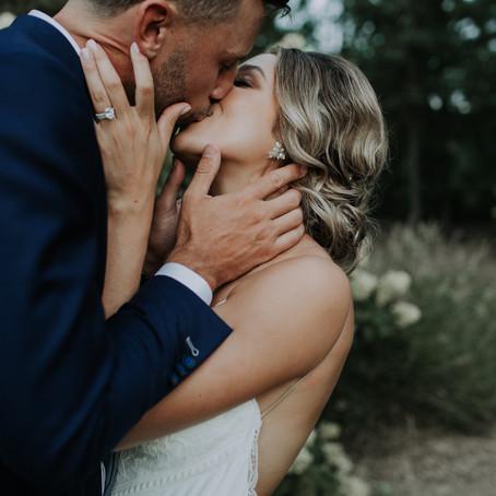 ReAnne + Rich's Garden Wedding