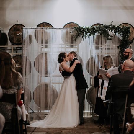 Abby + Greg's Moody Brewery Wedding