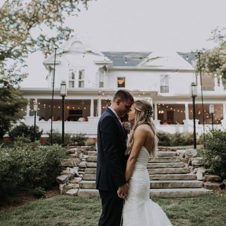 Sarah + Zach's Tiny Ritchie Hill Wedding