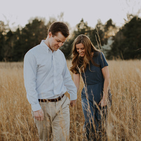 Sarah + Matt in the Field of Dreams