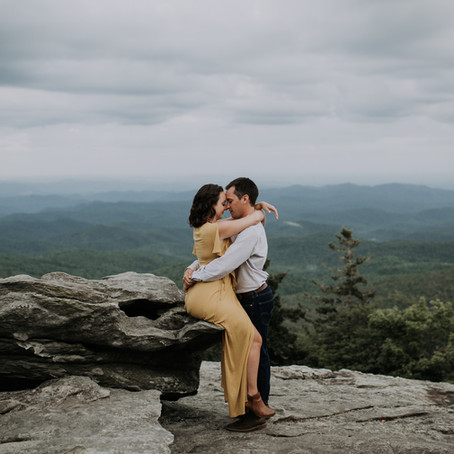 Grandfather Mountain with Candice + Will