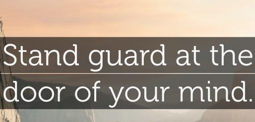 GUARDING YOUR PEACE-Pt. 2