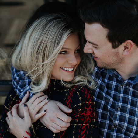 Melissa + Zach's Sycamore Brewing Love Story