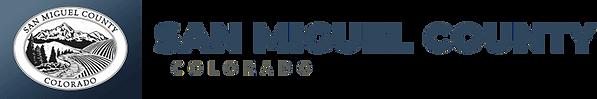 San Miguel County logo & link
