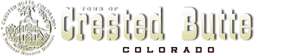 Town of Crested Butte logo & link