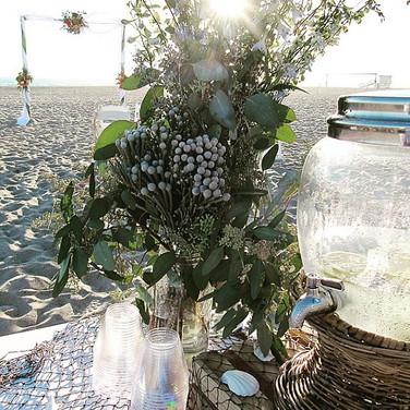 Beach Wedding La Tea Da By Ruth Los Angeles