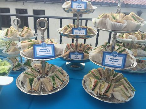 Pan Am Luncheon Tea Sandwiches La Tea Da By Ruth Los Angeles