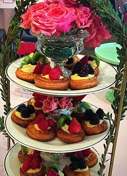 Afternoon Tea Fruit Tartlets La Tea Da By Ruth Los Angeles