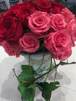 Rose Centerpiece La Tea Da By Ruth Los Angeles