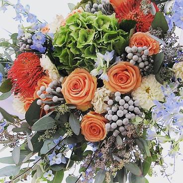 Wedding Flowers La Tea Da By Ruth Los Angeles Beach Wedding