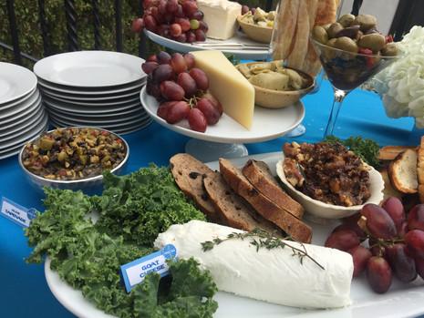 Deluxe Cheese & appetizer feast La Tea Da By Ruth Los Angeles