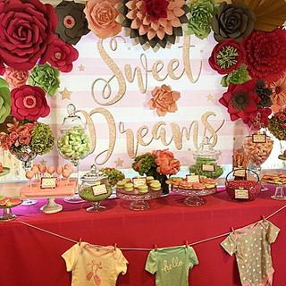Baby Shower Dessert Table La Tea Da By Ruth Los Angeles