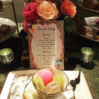Tea in the Library La Tea Da By Ruth Los Angeles Dessert Tables