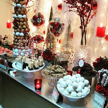 Holiday Dessert Table La Tea Da By Ruth Los Angeles