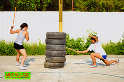 Stick Fighting Practice for Self Defense