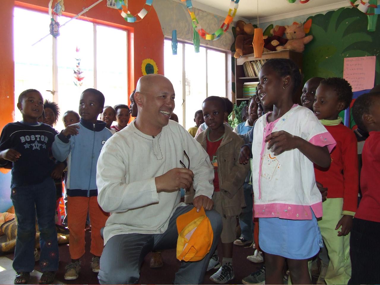 smiling small kids ZA