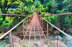 Hanging Bridge along the way to the MDP Village