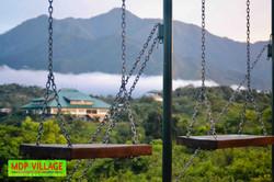 Swings overlooking the MDP Village