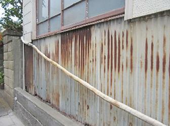 外壁を補修したい外壁が色あせてきている
