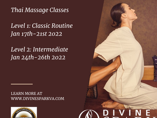 Thai Massage Classes
