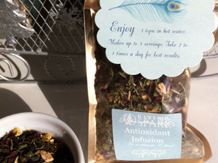 Drink to your health! Antioxidant Infusion Tea