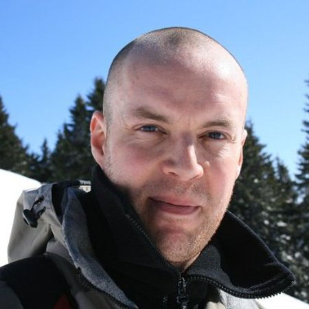Alexander Jordan English teacher Ljubljana