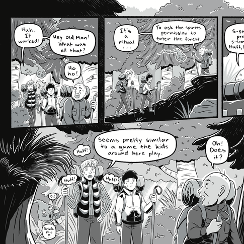 Changeling pgs. 16-17