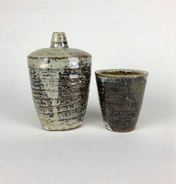 Flask and Cup