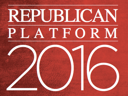 Republican Party Platform 2016