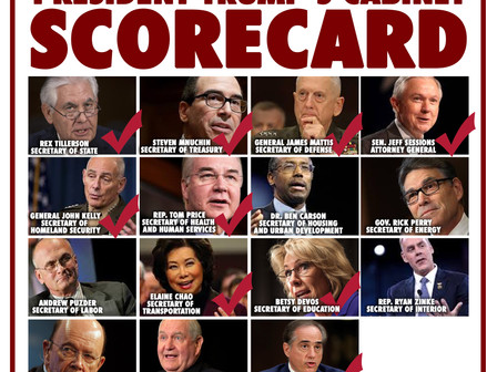 The Cabinet Scorecard