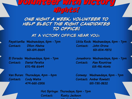 YR Volunteer with Victory Nights