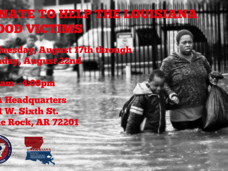 Special Call to Action:  Our Louisiana neighbors need your help!