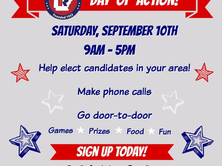 ARYR Day of Action | This Saturday 9/10!