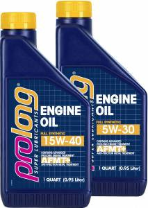 ADVANCED ANTI-FRICTION TECHNOLOGY IN TWO NEW PROLONG® SUPER LUBRICANTS MOTOR OILS INCREASES FUEL