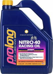 PROLONG® SUPER LUBRICANTS OFFERS 40W NITRO RACING OIL