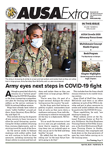 US Army eyes next steps in COVID-19 fight