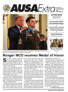 AUSA Extra - Ranger NCO receives Medal of Honor