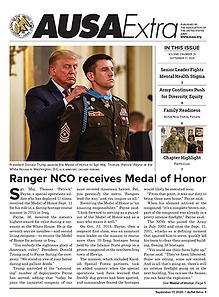 AUSA Extra - Ranger NCO receives Medal of Honor