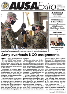 AUSA Extra - Army overhauls NCO assignments