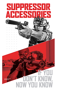 SureFire Suppressor Accessories, if you don't know, now you know...