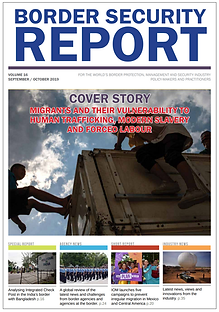 Get the Sept-Oct issue of Border Security Report magazine