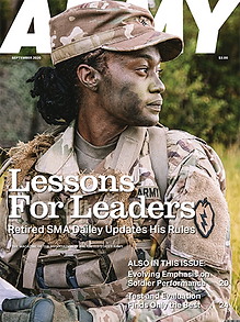 Get the September 2020 edition of ARMY magazine