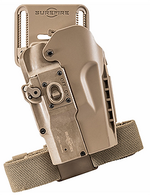 The MasterFire Pro Rapid Deploy Holster from SureFire