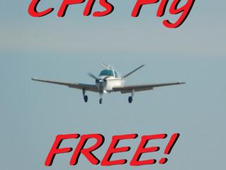 CFIs Fly FREE!