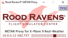 Introducing the Rood Ravens® METAR Proxy for X-Plane® 9 Real-Weather