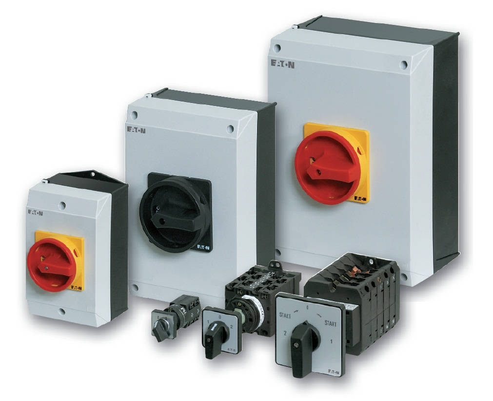 Eaton Cam switches, switch-disconnectors