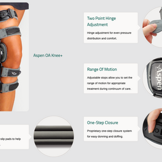 Aspen Osteoarthritis Knee Brace Description- Durable Medical Equipment